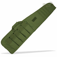 100cm Padded Airsoft Military Hunting Gun Rifle Carry Slip Case Bag Pack Green