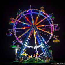 LIGHT MY BRICKS - LED Light kit for Lego Ferris Wheel 10247 LEGO LED Light