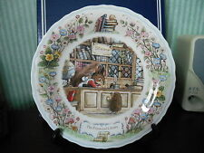Wedgwood  plate MADE IN ENGLAND Foxwood Tales  Foxwood Library  fine bone china