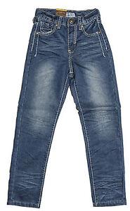 Mens Chisel Jeans Light Blue Denim Straight Leg Kids Youth Jeans- CJ-2749Y Sale