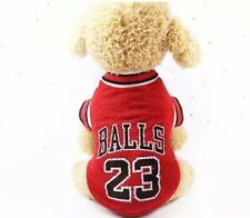Dog Vest Pet Clothing Puppy Clothes Sport Summer Shirt Balls Jersey Xs-4Xl