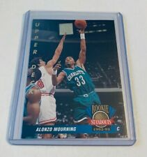 B10,865 - 1992-93 Upper Deck Rookie Standouts #RS2 Alonzo Mourning Hornets