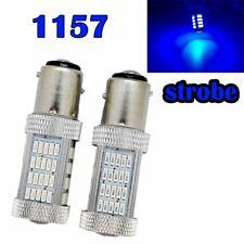Strobe Rear Signal 1157 2057 2357 3496 7528 BAY15D P21/5W 92 LED Blue M1 MAR