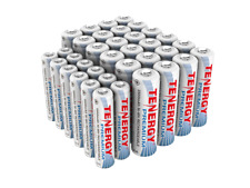 Tenergy AA+AAA 2500mAh 1000mAh Premium NiMH Rechargeable Battery Cell Combo Lot