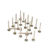 "20Pcs Diamond Coated Grinding Head For Jewelry Polishing Rotary Tool 1/8"" Shank"