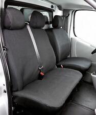 Kunstleder Sitzbezüge Renault Trafic Einzelsitz+Doppelbank vorn, 06/01-07/14