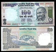 "Rs 100/- 1990s India Banknote C. RANGARAJAN ""A"" GANDHI GEM UNC RARE"