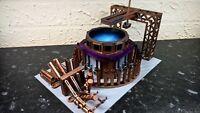 Thorium fuelrod plant warhammer 40k wargame Infinity wargaming building terrain