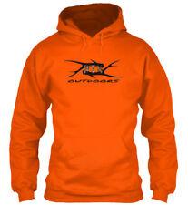 Custom Antler Shed Hunters Safety Blaze Orange Rifle Hunting Hoodie Sm -5XL