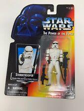 1995 Star Wars POTF Stormtrooper Blaster Rifle Infantry Cannon Action Figure