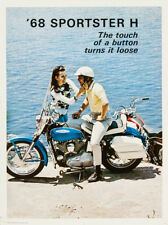 "1968 Harley-Davidson  Sportster Advertising Poster Replica 11 x 14""  Photo Print"