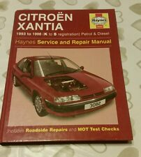 CITROEN XANTIA 93-98 K-S REG PETROL&DIESEL HAYNES WORKSHOP MANUAL 3082 FREE P&P