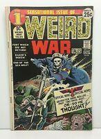 Weird War Tales #1 Bronze Age DC Comic Books! 1971 VG+