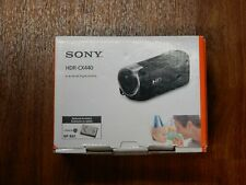 New in Box - Sony Handycam HDR-CX440 30x HD Camcorder - BLACK - 027242886131