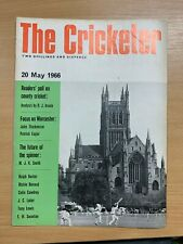 20 MAY 1966 THE CRICKETER MAGAZINE - D J INSOLE / FOCUS ON WORCESTER