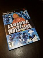 Legends of Wrestling (Sony PlayStation 2 , 2001) PS2 Complete Tested
