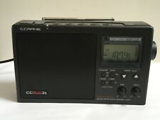 C. Crane CCRadio-2E Enhanced Portable AM FM Weather and 2-Meter Ham Band (Black)