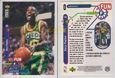 NBA UPPER DECK 1995/96 - Gary Payton # 190 - Supersonics - Ita/Eng - MINT