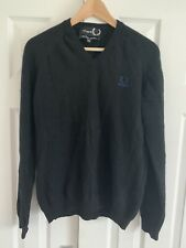 Fred Perry Raf Simons V Neck Jumper / Sweater Mens Large L 42""