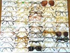 Vtg Eyeglasses Lot of 50 Aviator Butterfly+ Prescription Rx Frames Men Women