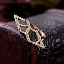 Ring Pfeil Art Deco Kristall Retro Antik Vintage Original Geschenk 54 Z1