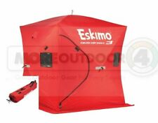 69143  Eskimo QuickFish 3 Man Ice Shelter Ice Fishing Shanty Portable Tent Shack
