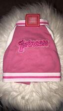Hip doggie pink Princess Baseball Jacket Small
