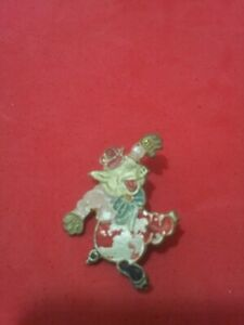 VERY RARE - 3 LITTLE PIGS 40's Portugese Pin hand painted - LUSO/OSUL - RARE #1