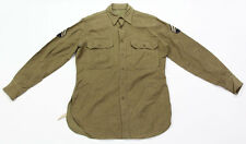 Chemise Technician 5th grade US ARMY WW2 (matériel original)