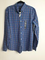 GAP NWT Men's Button Up Shirt 100% Cotton Long Sleeve Size M