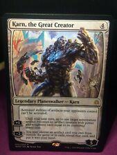the Great Creator 1 Karn Colorless War of the Spark Mtg Magic Rare 1x x1