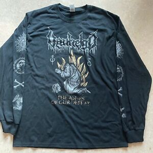 VANHELGD The Ashes Of Our Defeat LONGSLEEVE SIZE: MEDIUM