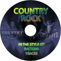IN THE STYLE OF COUNTRY ROCK GUITAR BACKING TRACKS CD BEST GREATEST HITS MUSIC