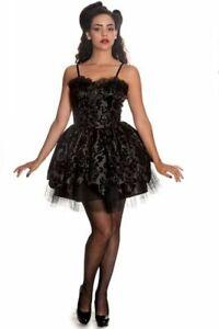 Kleid Mystic Flower Hell Bunny Petal dress Gothic