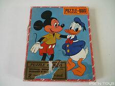 PUZZLE / 2 Puzzles en bois Walt Disney Réf.299 / Jouets Vera Paris