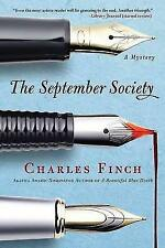 The September Society (Charles Lenox Mysteries)-ExLibrary