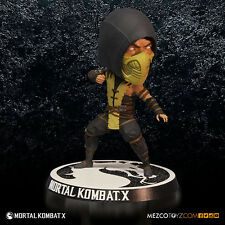ACTION FIGURE MORTAL KOMBAT X 10 SCORPION BOBBLE HEAD 15 CM BOBBLE-HEAD PS4 #1
