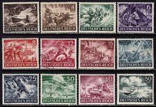 THIRD REICH 1943 mint MNH Warmachines stamp set!
