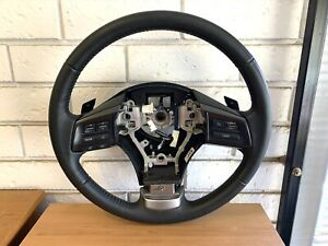 Subaru G4 Impreza/G4X XV 2014 leather steering wheel