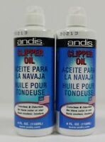 ANDIS Lubricant Blade Oil (2LOT) for Hair Clipper Trimmer Shaver 4oz