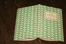 Insel-Bücherei Nr. 392 - Max Eyth - Dunkle Blätter / 1943