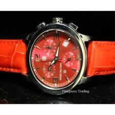 Swiss Military Women's 06-6000-04-004 Dreamland Quartz Red Dial Leather Watch