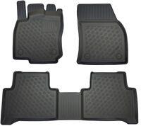 OPPL Fußraumschalen 3-teilig statt Gummimatte für VW Touran II 5T 15- 5/7-Sitzer
