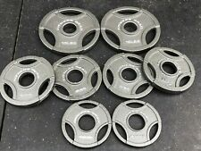 Olympic Weight Plate Set - 45 lb Total - Olympic Grip Plates - FITNESS GEAR