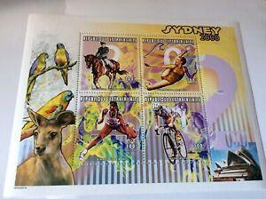 Sydney Olympic Games 2000 CAR sheet Equestrian etc