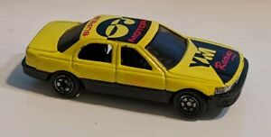 Yatming #806 Lexus LS400/Toyota Celsior 1:64 Diecast yellow YM Racing tampo