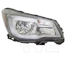 TYC NSF Right Side Halogen Headlight For Subaru Forester 2017-2018 Model