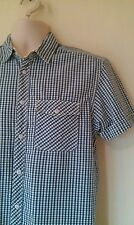 Superb LEVIS short sleeved shirt sz S in excellent condition! Blue,white,check