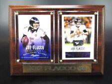 Joe Flacco Baltimore Ravens Holz Wandbild 20 cm,Plaque NFL Football