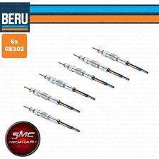 6 x CANDELETTA ORIGINALE BERU GE102 BMW SERIE 5 E60 E61 525-535